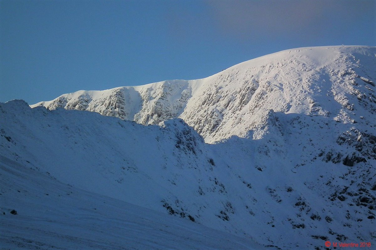 08 Striding Edge, Lad Crag & sunlit crags in Nethermost Cove, from Birkhouse.jpg